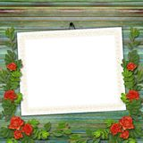 Framework for greeting or invitation Stock Images