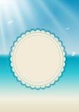 Framework for greeting or invitation. 2d design of a framework for greeting or invitation Stock Images