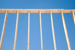 Framework of a house Royalty Free Stock Photo