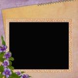 Framework for invitation or congratulation. Royalty Free Stock Photos
