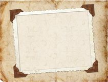 Framework for invitation or congratulation. In scrap-booking style Royalty Free Stock Images