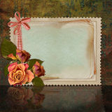 Framework for invitation or congratulation. Stock Photos