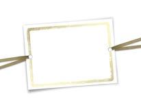 Framework for invitations. Stock Photo