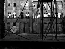 Framework and lost. A framework is shown on the right side od the picture royalty free stock photography