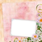 Framework for photo or congratulation. Framework for photo or congratulation  in scrap-booking style Stock Photo