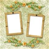 Framework for a photo or congratulation Stock Photography