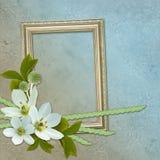 Framework for photo or congratulation. royalty free illustration