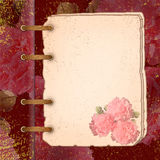 Framework for a photo or congratulation. Abstract floral background Royalty Free Stock Photography