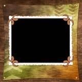 Framework for photo or invitation Stock Image