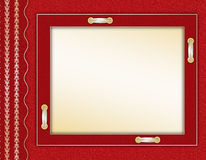 Framework for a photo or invitation Royalty Free Stock Image