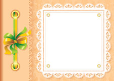 Framework for a photo or invitations Royalty Free Stock Photo