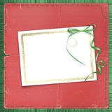 Framework for a photo or invitations. Royalty Free Stock Photography