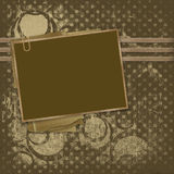 Framework for photos on the abstract background Royalty Free Stock Photo