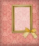 Framework on renaissance background royalty free illustration