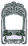 Framework in style art-nouveau Royalty Free Stock Photography