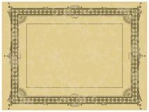 Framework in style art-nouveau Royalty Free Stock Photos