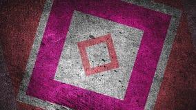Framför abstrakt bakgrund för modern grunge med rektanglar, skrapad yttersida, 3d datoren frambragte bakgrunden vektor illustrationer