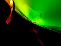 framför abstrakt blackred för bakgrund 3d yellow Arkivbild