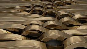 Framför av geometrisk abstrakt bakgrund 3D arkivfilmer
