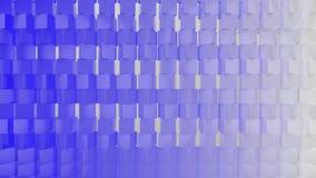 Framför av geometrisk abstrakt bakgrund 3D lager videofilmer