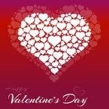 framför dagen detailed hjärta 3d s-valentinen Arkivbilder