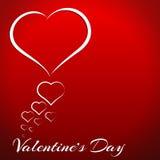 framför dagen detailed hjärta 3d s-valentinen Royaltyfri Bild