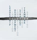 framför den begreppsmässiga bilden för begreppet 3d lösningen Arkivbild