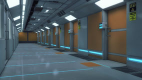 framförande 3d Futuristisk bakgrundsarkitektur Arkivbild