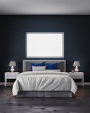 framförande för sovrum 3d royaltyfria foton