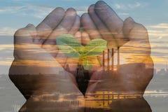 framförd energibild för beskydd 3d Arkivfoto