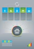 framförd energibild för effektivitet 3d Royaltyfri Illustrationer