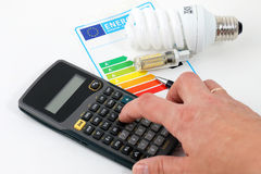 framförd energibild för effektivitet 3d arkivfoton