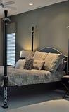 framförd inre blixt för omgivande sovrum 3d Arkivbilder