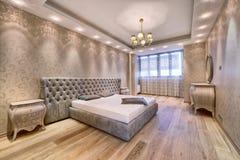 framförd inre blixt för omgivande sovrum 3d Arkivbild