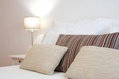 framförd inre blixt för omgivande sovrum 3d Royaltyfria Bilder