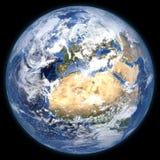 Framförd tredimensionell jord Arkivbilder