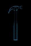 framförde den blåa hammaren 3d röntgenstrålen Arkivfoto