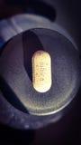framförde illustrationen isolerade pills för förälskelse 3d white Royaltyfri Fotografi
