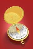 framgång för 2 kompass Arkivfoto