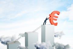 Framgång och pengarbegrepp vektor illustrationer