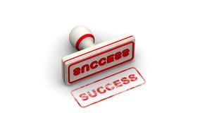 framgång Stämpeln lämnar en avtryck lager videofilmer