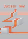 Framgångbegreppskonst Arkivfoton