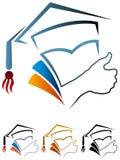 Framgångkandidat vektor illustrationer