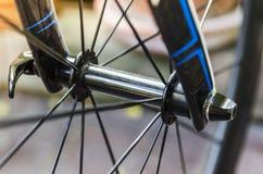 Framhjul och framhjulnav Royaltyfri Foto