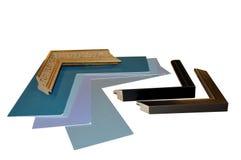 framing supplies stock photo