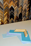 Framing supplies Royalty Free Stock Image