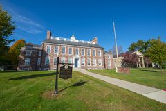 Framingham州立大学,马萨诸塞,美国 库存图片