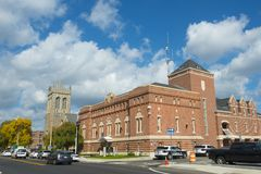 Framingham городское, Массачусетс, США Стоковое Фото