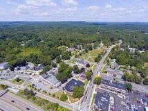 Framingham Centre błonie, Massachusetts, usa Obraz Royalty Free