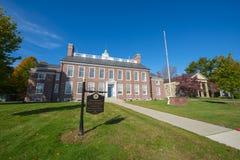 Framingham delstatsuniversitet, Massachusetts, USA fotografering för bildbyråer